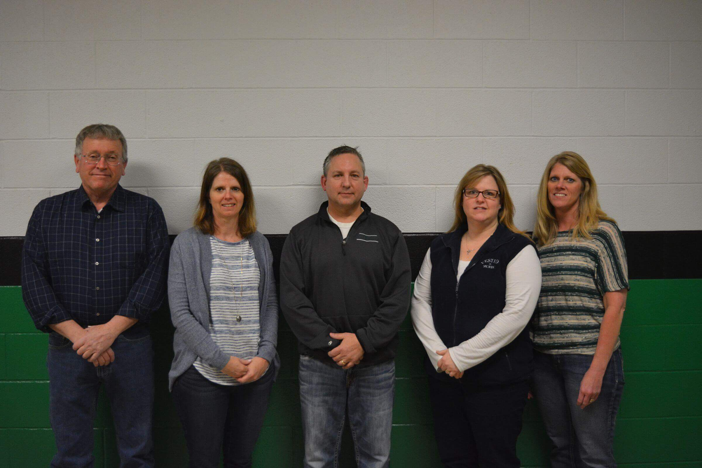 Picture of our 2017-2018 Osage School Board